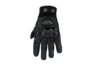 Gloves leather ventilated road