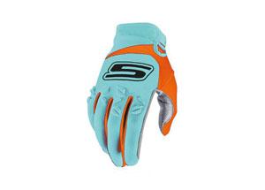 Gloves Cross Blue-Orange