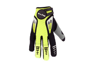 Gloves Cross Kid Yellow Black