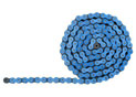 420 Hyper Reinforced 132 links - Blue Fluo links