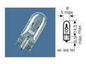 BOX OF 10 12V-1,2W / SIGNALLING LIGHTS W2X 4.6D CAPSULE FITMENT