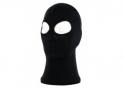 Balaclava Black Silk (2 eyes)