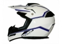 HD210 Cross White and Blue