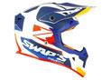 Cross Helmet S818 Blur White Blue Orange
