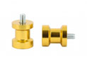 Swingarm spool Alu Gold Ø6mm x1.25