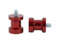 Swingarm spool Alu red Ø6mm x1.25