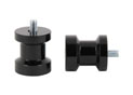 Swingarm spool black alu Ø8mm x1.25
