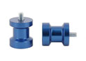 Swingarm spool Alu Blue Ø8mm x1.25
