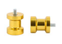 Swingarm spool Alu Gold Ø8mm x1.25