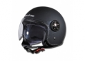 Open face LuxeCity Leather Black