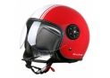 Halfjet LuxCty S720 Red / White