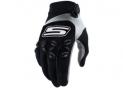 Cross gloves Black & White  CE 1KP homologated