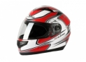 Full face helmet S420 Red/Black
