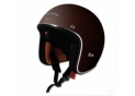 Open face CafeRacer S210 Leather Brown