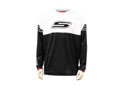 Cross jersey white black