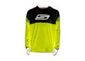 Cross jersey yellow Fluo