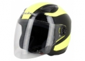 Open face S200 Black / Fluorescent yellow