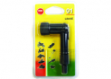 Bent spark plug cap 90° BLISTER LB05E-B1