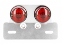 Rear lights round + plate