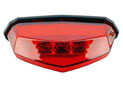 Rear light red led: 10 leds, 142 x 39mm : Depth 82 mm