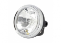 Headlight Round universal black