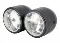 Headlight Double light black