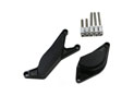 CNC protection kit for covers - black GSR 600 / 750 Left and right