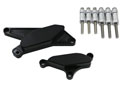 CNC protection kit for covers - black B-KING 08-12 Left and right