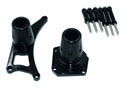 CNC protection kit for covers - black MT-01 05-11 Left and right