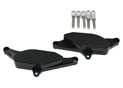 CNC protection kit for covers - black VMAX 1700 09-13 Left and right