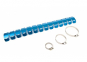 Exhaust protection 2 stroke Blue