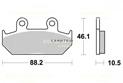 Brake pad Sifam Sintered KBA ABE certified