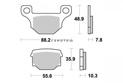 Water Pump Kit Minarelli AM6 axis 42.5mm Aprilia Beta Hrd Peugeot Yam