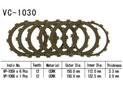Clutch friction discs Xr650 R 00 05