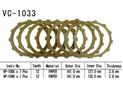 Clutch friction discs Gl1800 Gold Wind 01-02