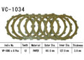 Clutch friction discs Vtx1800 C 02-