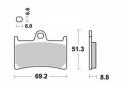 Brake pad Vesrah Racing - VD248RJL