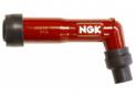 Spark plug cap Ngk XB05F-R dark red